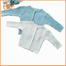 Pull tricoté à la main unisexe Cardigan motif unisexe
