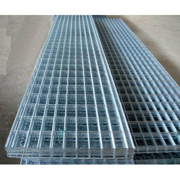 Square Hole Galvanized Welded Wire Mesh Panel