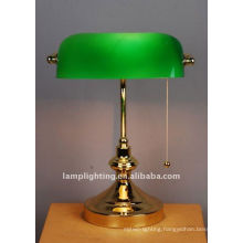 Hotel Antique Bedside Reading Bank Glass Table Reading Lighting