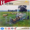 Remolque galvanizado del panel del ganado