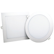 3 step CCT color change led panel light 3w/6w/9w/12w/18w/24w round/square recessed panel lamp