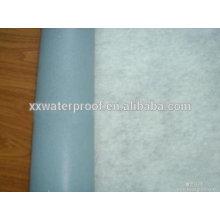 Membrane de couverture en chlorure de polyvinyle 1,2 pb / 1,5 mm (pvc)
