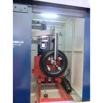 x ray 13-24inch tyre inspection machine