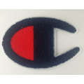 USA Champion Embroidery Chenille Logo Patch für Hoodie