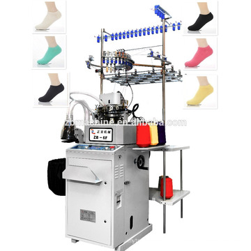 informatisé 3.5 navire chaussettes bateau chaussettes invisible chaussettes chaussette automatique machine à tricoter