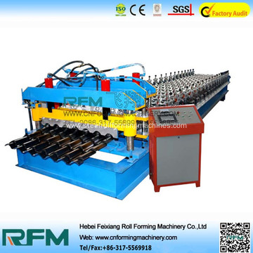 Glazed roll floor tile making machine