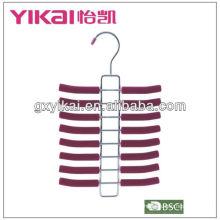 metal coat hanger stand with 16 rakcs for tie