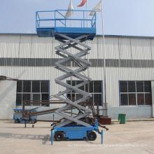 Carga de 500 kg cargando plataforma elevadora de tijera para venta caliente