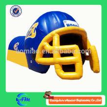 Tunnel de casque de football gonflable personnalisé personnalisé