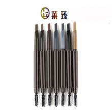 Waterproof and smooth multicolor eyebrow pencil