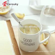 Custom design custom made porcelain mugs/ceramic stoneware mug