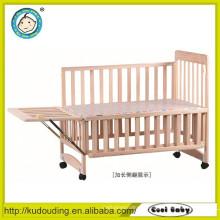 Hot venda Europa padrão bebê cama de madeira chinesa