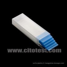Slide Mailer, plastique pour 5-PC (0500-1005)