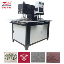 Women Shirt Silicon Labels Embossing Machine