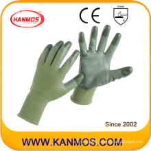 13gauges Nylon Knitted Nitrile Jersey Industrial Safety Work Glove (53202NL)