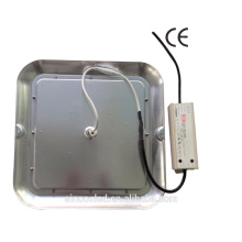 Square 40W CE ROHS Listed led gas station led canopy lights with 7 years warranty