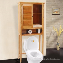 Natural Bamboo Wall Storage Bathroom Cabinet (EB-91352)