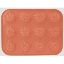Farbige Beschichtung 12cups Muffin pan