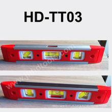 HD-TT03 mini nível de espuma de plástico, ímã