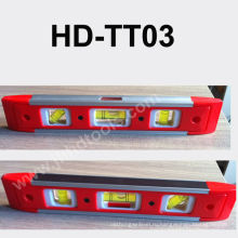 HD-TT03 мини-пластиковый спиртовой уровень, магнит