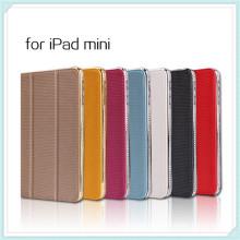Bling Diamond tachonado cuero soporte caso para iPad Mini