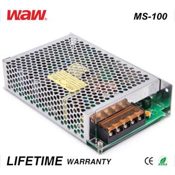 Driver do diodo emissor de luz do anúncio de Ms-100 SMPS 100W 24V 4A