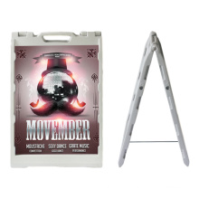 China Hot Sale Poster Stand Double Side Advertising Boards Poster Stand Display