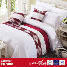 Poly Decoration Fabric Bed Runner Fuente