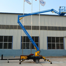 Hot sale !!man drive battery type articulated lift aerial platform