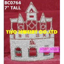 Tiaras de diamante de castelo