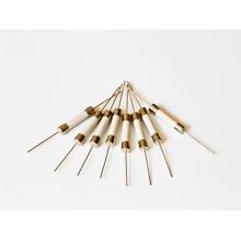 Fusible à tube en céramique 6 * 30 Rt1-32 à chapeau simple à action rapide (bouchon simple avec une ligne)