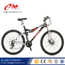 Алибаба передать сертификат CE велосипеды горные/хорошее качество 26 дюймов горные велосипеды/мужские полный подвеска горные велосипеды для продажи