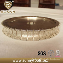 Premium Quality Diamond Electroplated Profiling Wheel for Marble