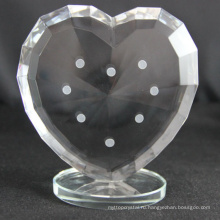 Фабрика производство различных пользовательских хрустальное сердце трофей для сувениры