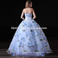 2017 fast delivery wedding party wear ball gown women dress off shoulder printed puffy bridesmaid dress patterns wholesale
