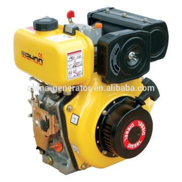 Certificado CE 10HP motores 406cc refrigerado a ar Motor Diesel WD186