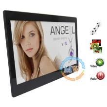 Grand écran photo numérique multifonctionnel de cadre de 13 pouces pour la publicité
