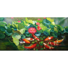 Hand Painted Animal Oil Painting on Canvas Art