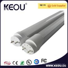 Luz de tubo comercial / interior de Ce / RoHS Aluminio y plástico T8 1200m m LED