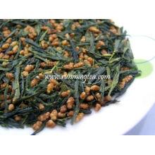 Thé vert au riz brun