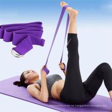 Ejercicio Gymnastics Yoga Strap con etiqueta privada