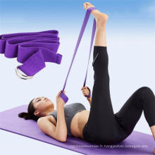 Exercice Gymnastique Yoga Strap avec Private Label