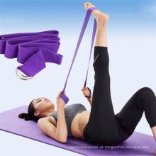 Exercício Ginástica Yoga Strap com Private Label