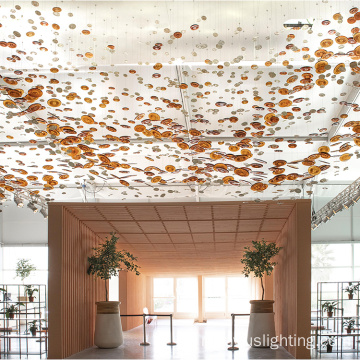 Современный отель Lobby Big Project Chandelier Pendant Lamp