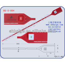 Ziehen Sie die Plastikdichtung BG-S-004 fest