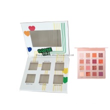 Custom Printed Cardboard Gift Eyeshadow Packaging Box with Magnetic Closure