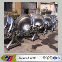 Пищевая нержавеющая сталь уровень приготовления пищи чайник машина с паровым отоплением наклоняя Тип