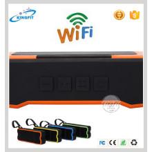 Nova tecnologia WiFi orador banco de energia impermeável Speaker
