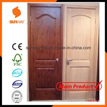 O design de porta de madeira sólida popular com preço competitivo