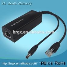Хорошая цена 802.3 AF рое сплиттер для питания через ethernt разъем RJ45 блок питания PoE Инжектор